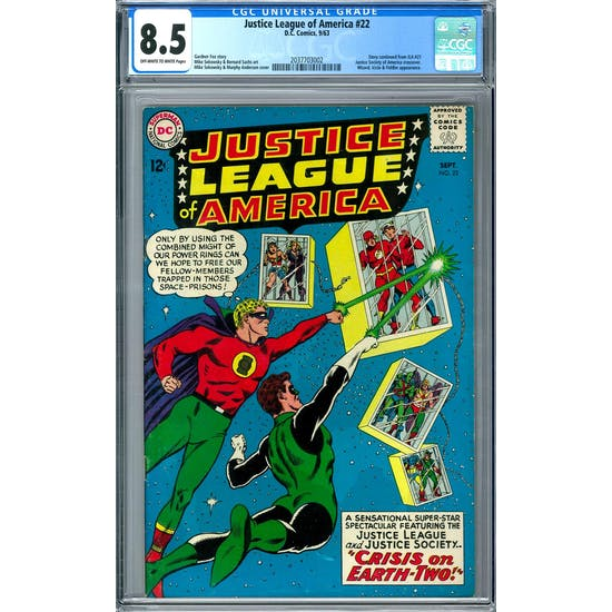 Justice League of America #22 CGC 8.5 (OW-W) *2037703002*