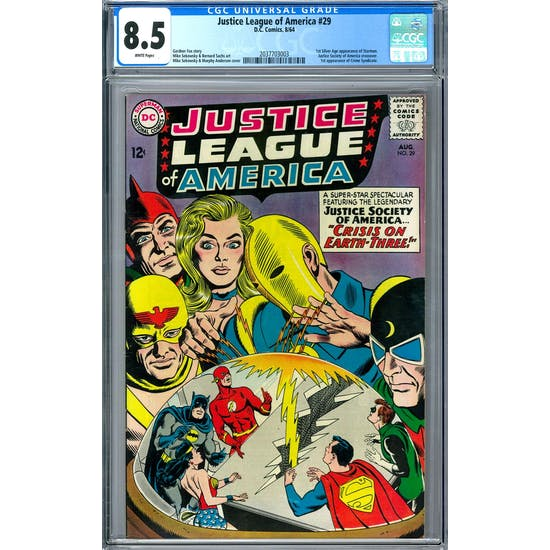 Justice League of America #29 CGC 8.5 (W) *2037703003*