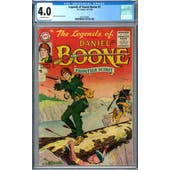 Legends of Daniel Boone #1 CGC 4.0 (OW) *2037703004*