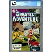 My Greatest Adventure #28 CGC 9.2 (OW) *2037703006*