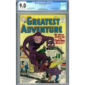 My Greatest Adventure #43 CGC 9.0 (OW-W) *2037703007*