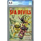 Sea Devil #1 CGC 6.5 (OW) *2037703011*