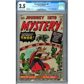 Journey Into Mystery #83 CGC 2.5 (OW-W) *2041432001*