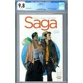 Saga #1 CGC 9.8 (W) *2041732001*