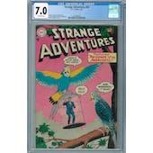 Strange Adventures #52 CGC 7.0 (OW) *2041980001*