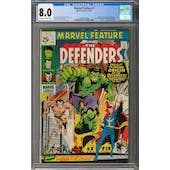 Marvel Feature #1 CGC 8.0 (OW-W) *2041981002*