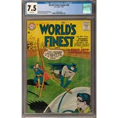 World's Finest Comics #86 CGC 7.5 (W) *2041981004*