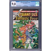 Giant-Size Fantastic Four #4 CGC 9.0 (W) *2041982001*