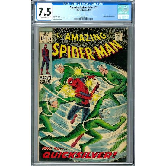 Amazing Spider-Man #71 CGC 7.5 (OW) *2042131002*