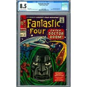 Fantastic Four #57 CGC 8.5 (OW-W) *2042131005*