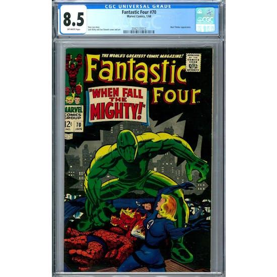 Fantastic Four #70 CGC 8.5 (OW) *2042131012*
