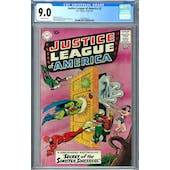 Justice League of America #2 CGC 9.0 (OW) *2042468010*