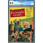 Star Spangled Comics #33 CGC 6.5 (OW-W) *2042674009*