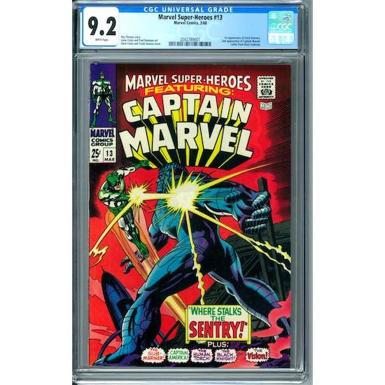 Marvel Super-Heroes #13 CGC 9.2 (W) *2042789001*