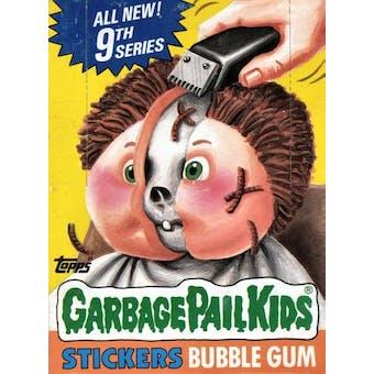 Garbage Pail Kids Series 9 Wax Box (1985-88 Topps)