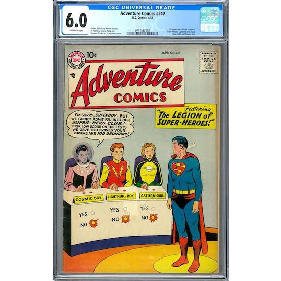 Adventure Comics #247 CGC 6.0 (OW) *2044532002*