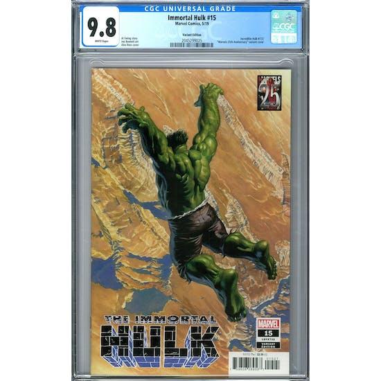 Immortal Hulk #15 CGC 9.8 (W) *2045299025*