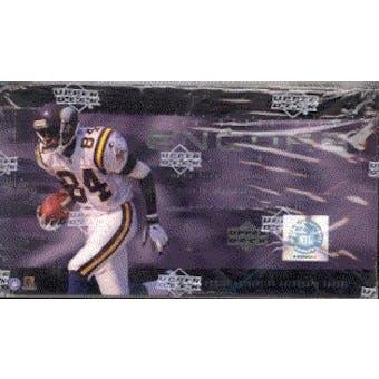 1998 Upper Deck Encore Football Hobby Box