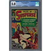 Tales of Suspense #52 CGC 5.0 (OW-W) *2046280014*