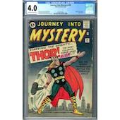Journey Into Mystery #89 CGC 4.0 (OW-W) *2046737005*