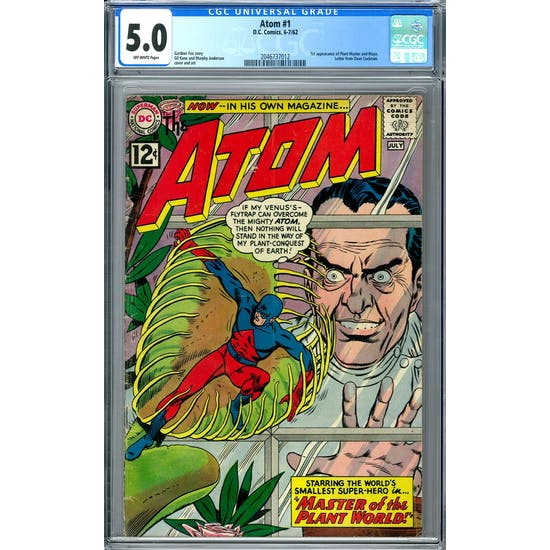 Atom #1 CGC 5.0 (OW) *2046737012*