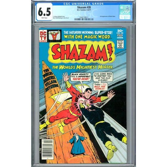 Shazam #28 CGC 6.5 (W) *2046738011*