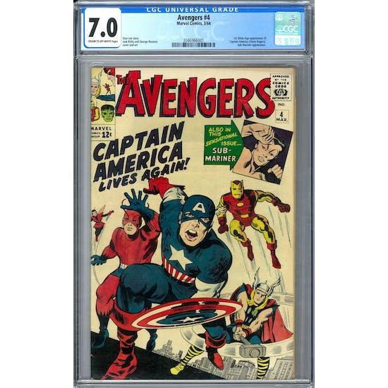Avengers #4 CGC 7.0 (C-OW) *2046966001*