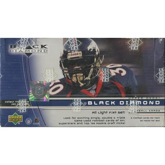 1999 Upper Deck Black Diamond Football Hobby Box