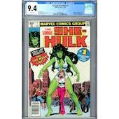 Savage She-Hulk #1 CGC 9.4 (W) *2048561001*