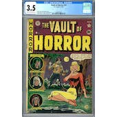 Vault Of Horror #19 CGC 3.5 (C-OW) *2048562003*