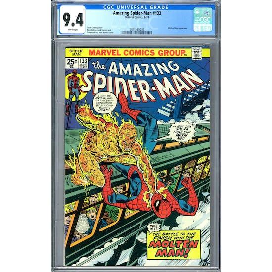 Amazing Spider-Man #133 CGC 9.4 (W) *2048598002*