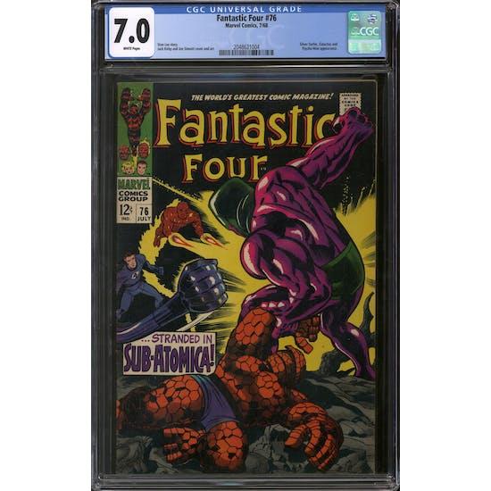 Fantastic Four #76 CGC 7.0 (W) *2048621004*