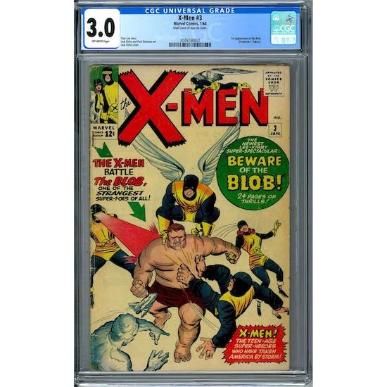 X-Men #3 CGC 3.0 (OW) *2049280002*