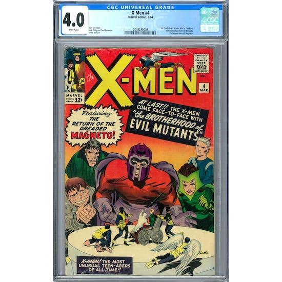 X-Men #4 CGC 4.0 (W) *2049280003*