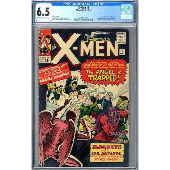 X-Men #5 CGC 6.5 (OW-W) *2049280004*