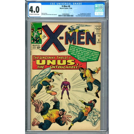 X-Men #8 CGC 4.0 (OW-W) *2049280005*