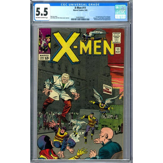 X-Men #11 CGC 5.5 (OW-W) *2049280007*
