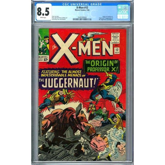 X-Men #12 CGC 8.5 (W) *2049280008*