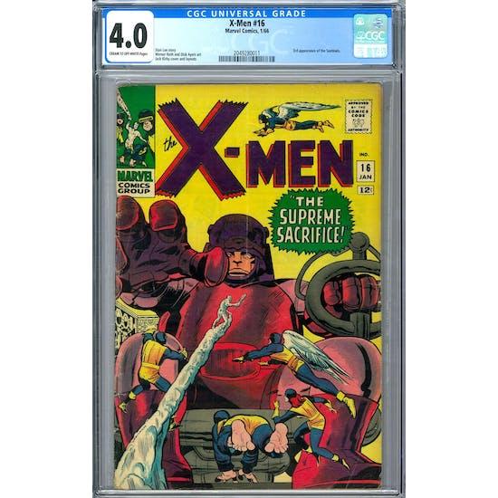 X-Men #16 CGC 4.0 (C-OW) *2049280011*