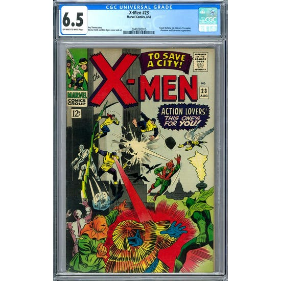 X-Men #23 CGC 6.5 (OW-W) *2049280015*