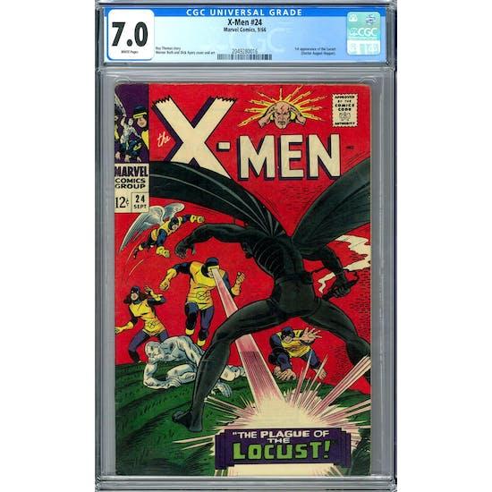 X-Men #24 CGC 7.0 (W) *2049280016*