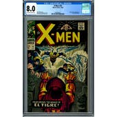 X-Men #25 CGC 8.0 (OW-W) *2049280017*