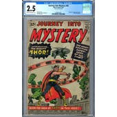 Journey Into Mystery #83 CGC 2.5 (C-OW) *2049522001*