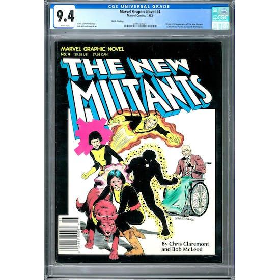 Marvel Graphic Novel #4 CGC 9.4 (W) *2049723001*