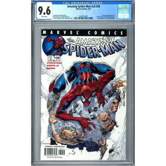 Amazing Spider-Man #v2 #30 CGC 9.6 (W) *2049724001*