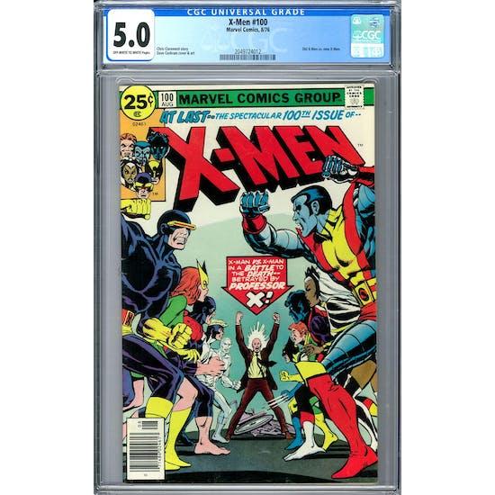 X-Men #100 CGC 5.0 (OW-W) *2049724012*