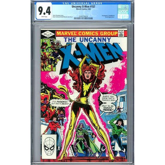 Uncanny X-Men #157 CGC 9.4 (W) *2049724024*