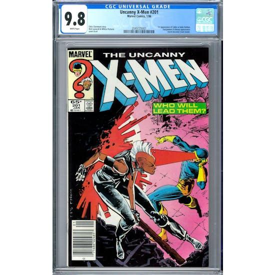 Uncanny X-Men #201 CGC 9.8 (W) *2049725001*