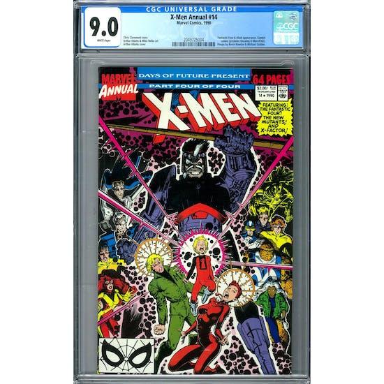 X-Men Annual #14 CGC 9.0 (W) *2049725004*