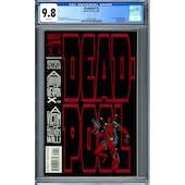 Deadpool #1 CGC 9.8 (W) *2049725006*